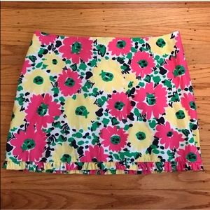 Lilly Pulitzer Callie Skirt in Doodlebug Daisy